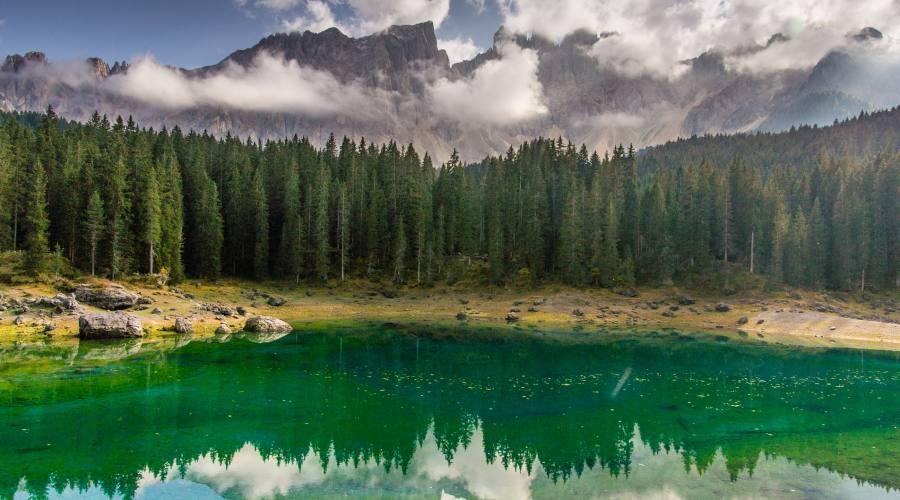 Lago di Crezza e Latemar