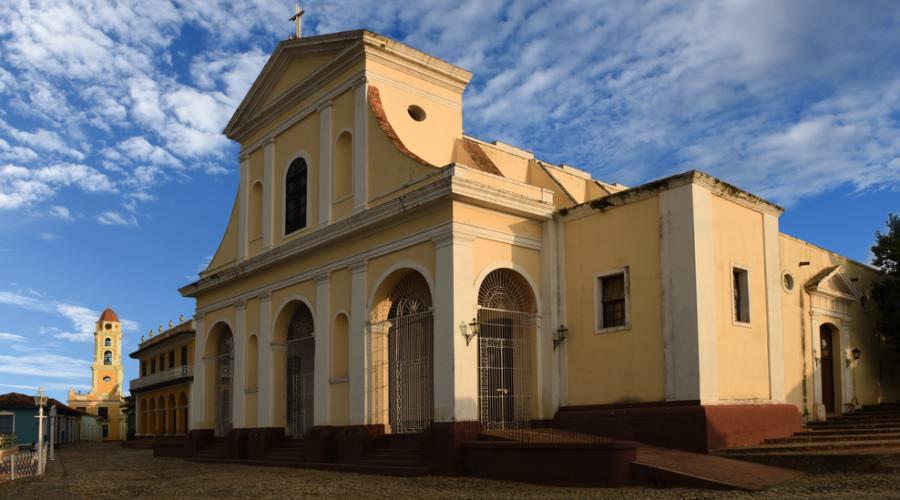 Holy Trinity Church Plaza Mayor - Trinidad