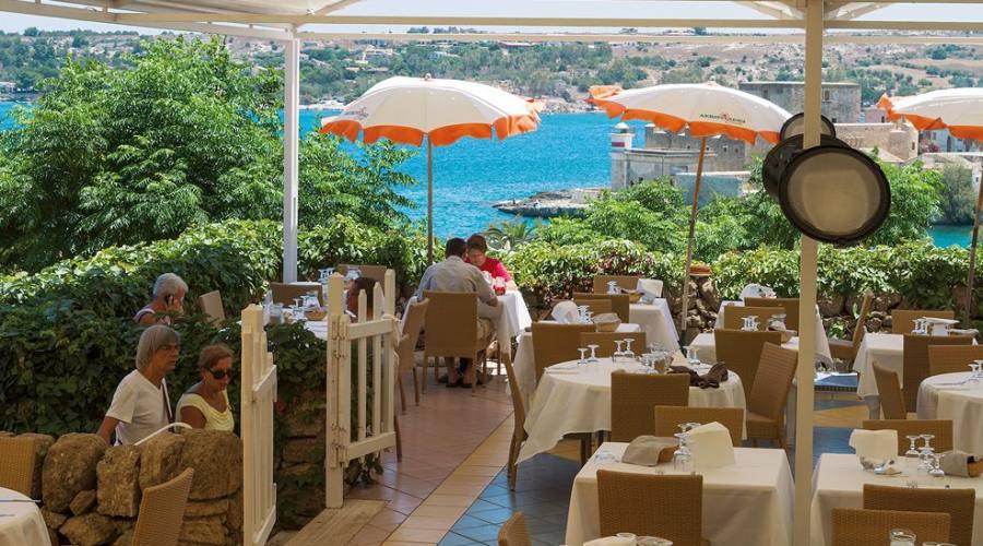 ristorante vista mare