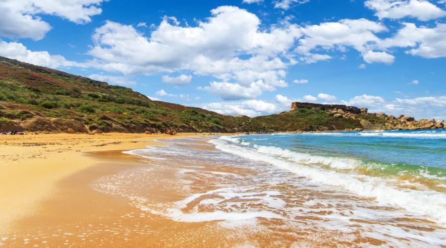 Malta: Golden Bay