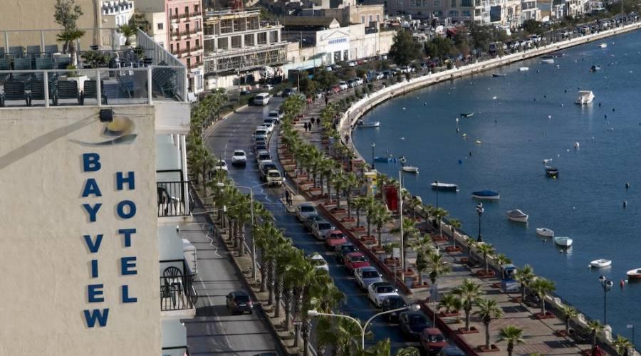 Bay View Hotel: Vista dall'alto
