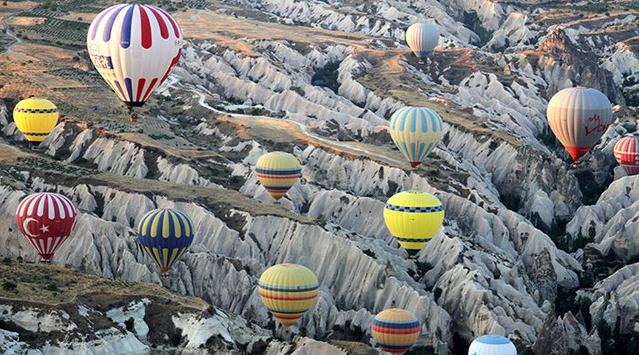 Mongolfiere in Cappadocia