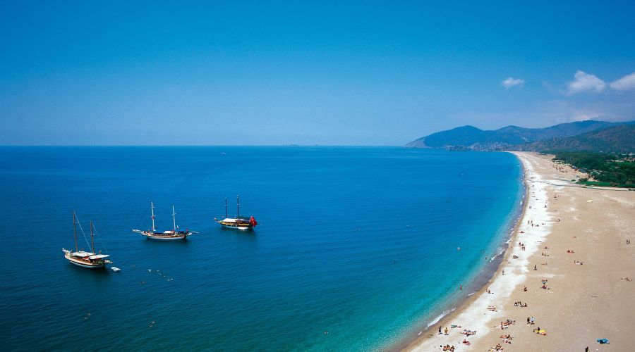La costa turca