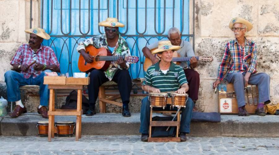 musicisti a L'Havana
