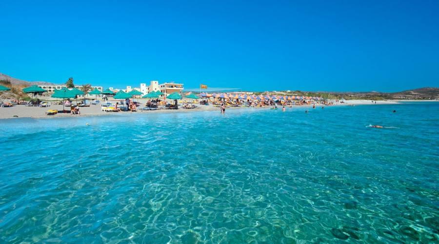 Una spiaggia di Rodi