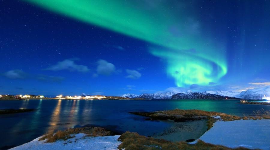 aurora boreale a Tromso