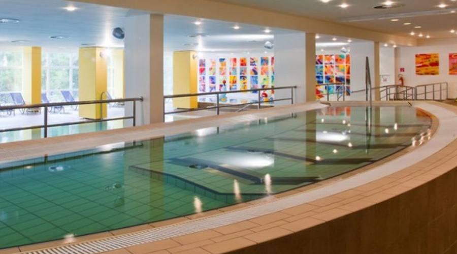La piscina coperta