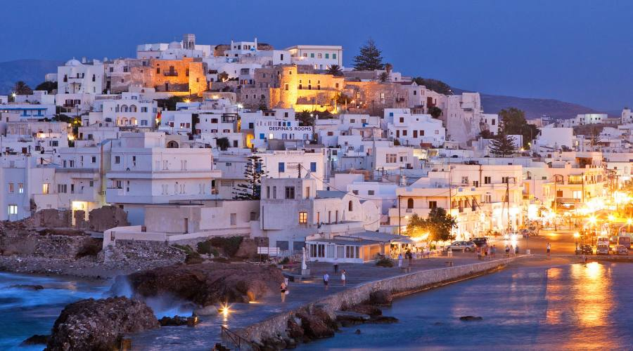 il paesino di Naxos