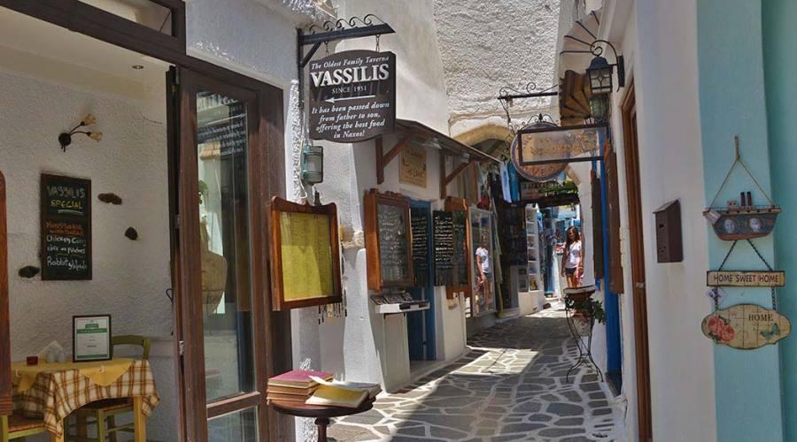 i vicoletti di Naxos