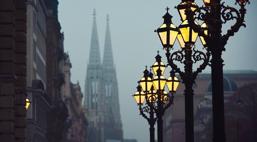 Vienna, magia delle luci