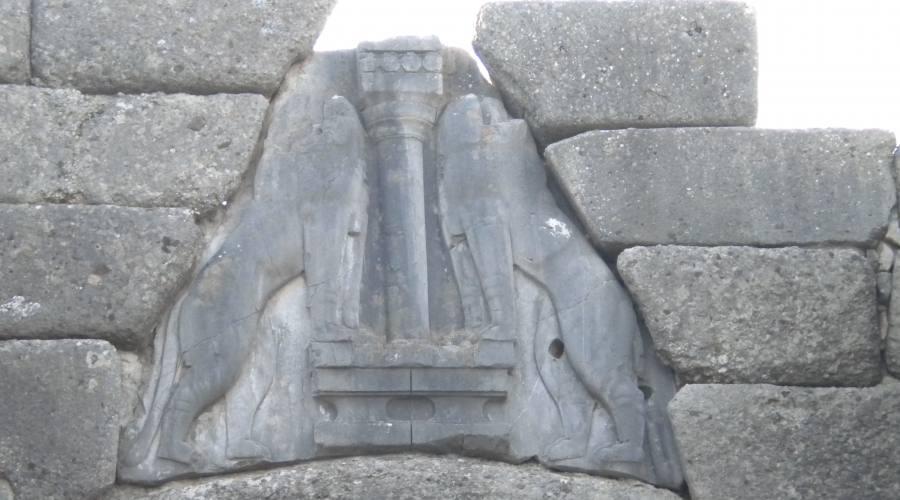 Micene, la Porta dei Leoni
