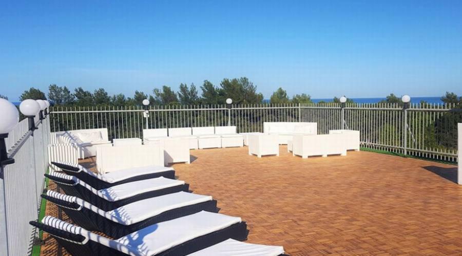 La terrazza solarium