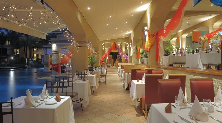 Il ristorante Les Quais