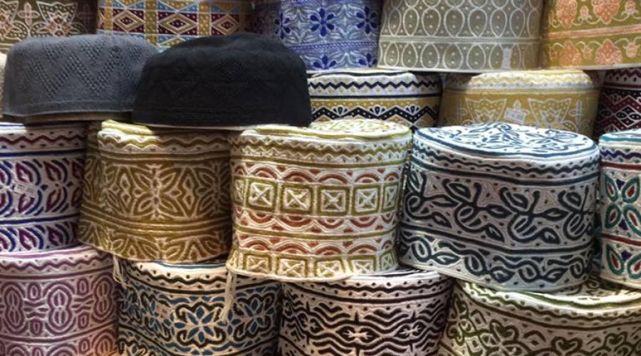 Artigianato locale al souk di Muscat