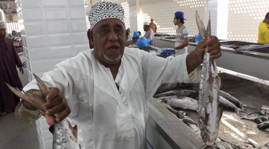 Il Mercato del pesce di Muscat