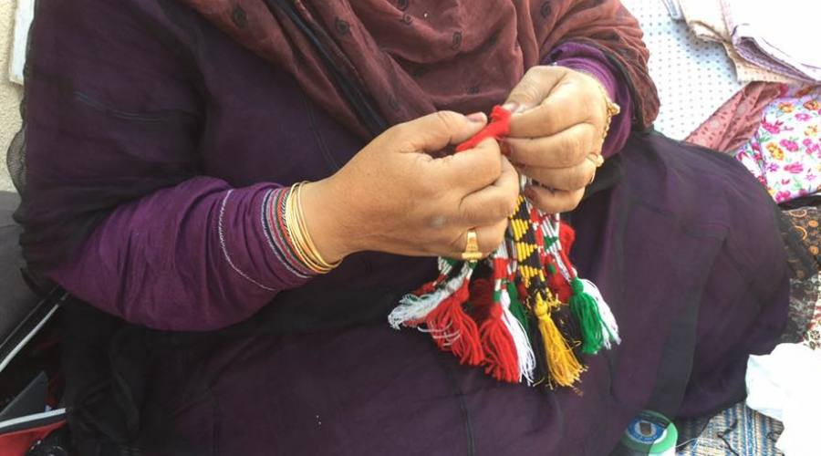 Donne al lavoro al Mercato di Ibra