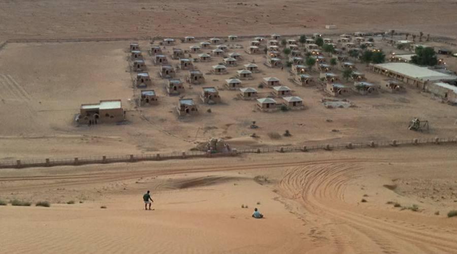 Il Campo Tendato nel deserto di Wahiba Sands