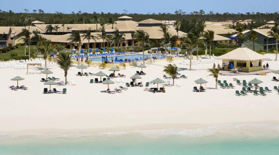 Veduta aerea di Grand Bahama