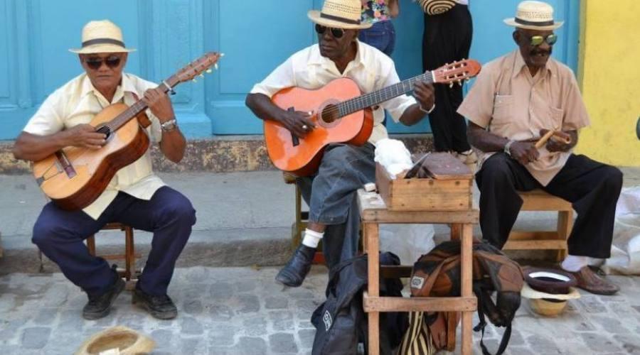 Musicisti a Cuba
