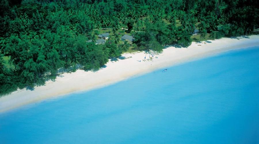 Vista aerea del resort