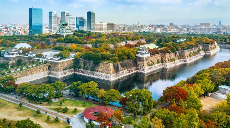 Osaka e l suo Castello