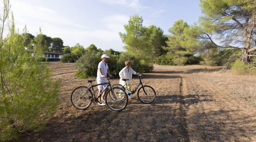 passeggiata in bici