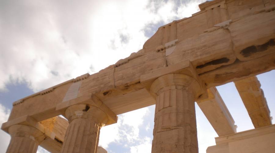 Particolare Acropoli