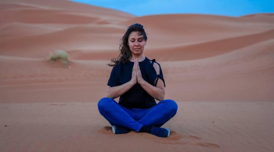 Yoga nel Sahara