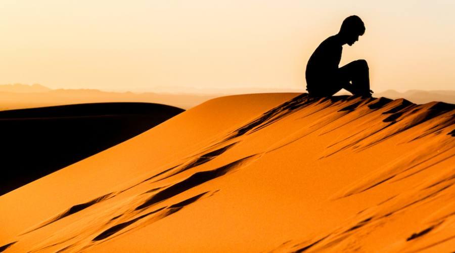 Meditazione Sahara