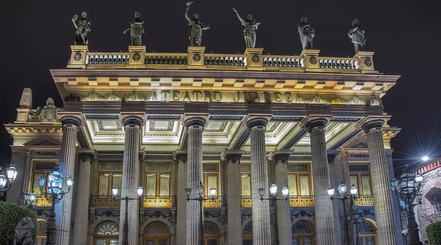 Teatro Juarez Guanajuato