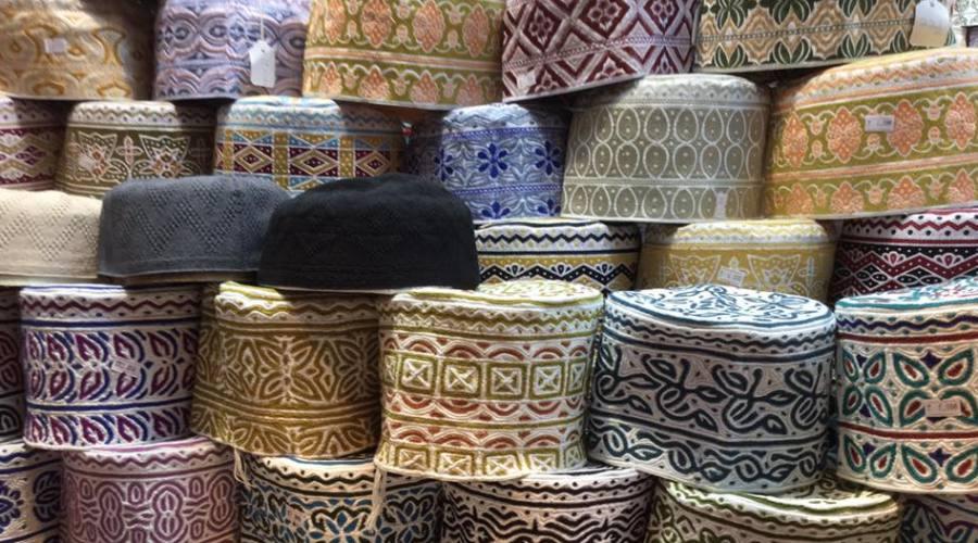 Artigianato locale a Muscat