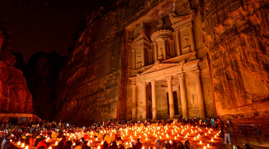 Petra, El Khasneh (il tesoro)