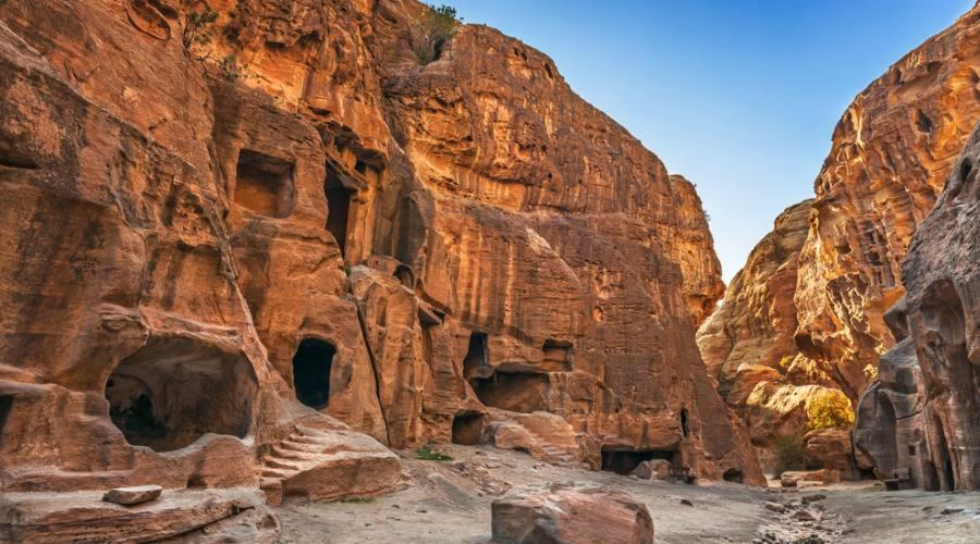 Beida (la piccola Petra), il canyon