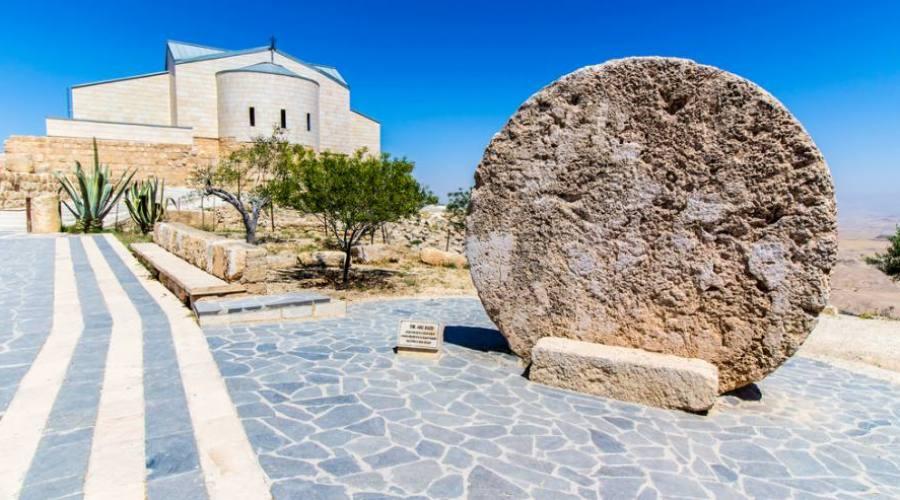 Monte Nebo, il memoriale a Mosè