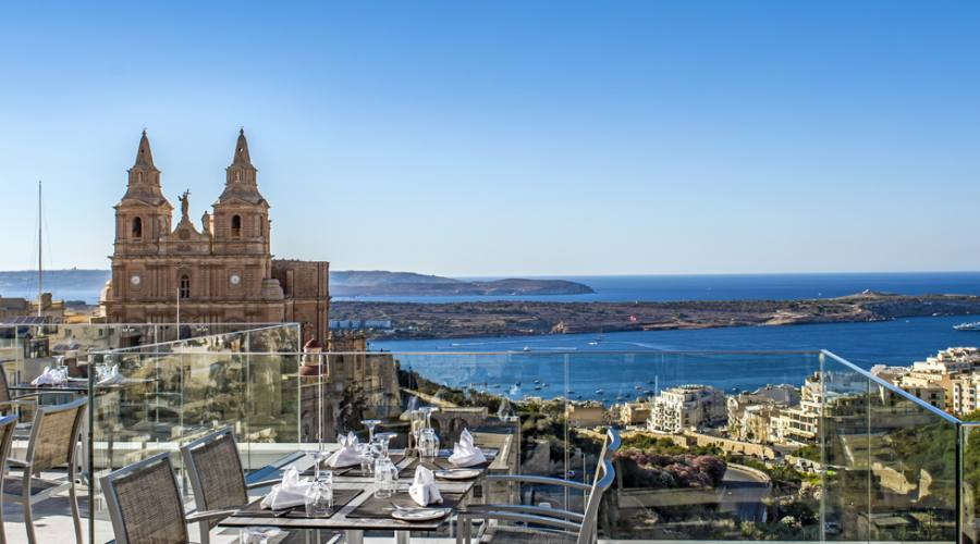 Maritim Hotel: Ristorante Panoramica