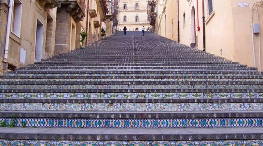 scalinata di Caltagiorne