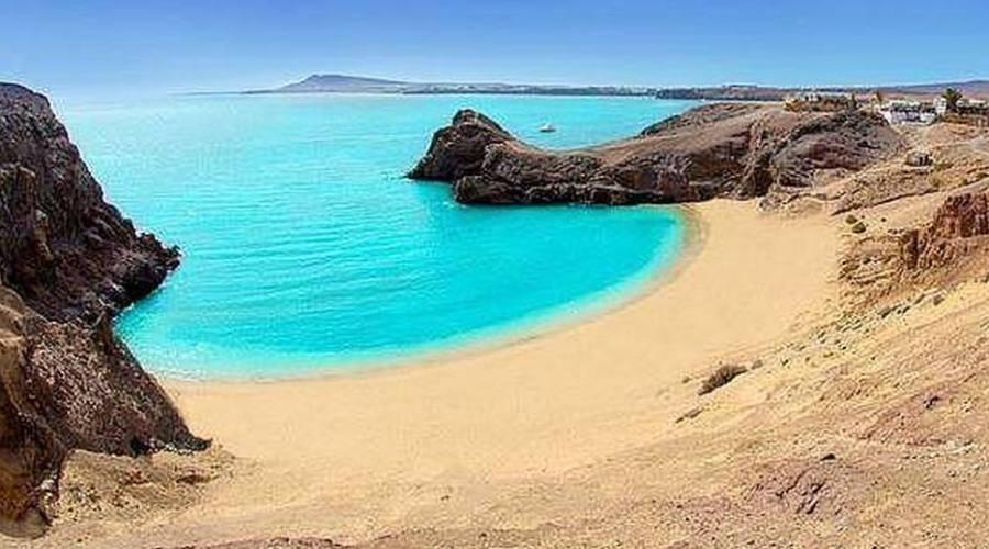 spiaggia Playa Blanca
