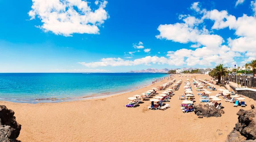spiaggia puerto del carmen