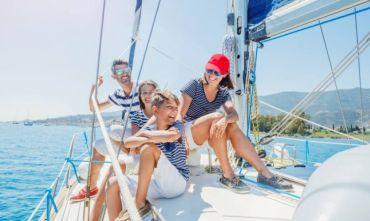 Vacanza in barca a vela per tutta la famiglia alla scoperta delle isole greche
