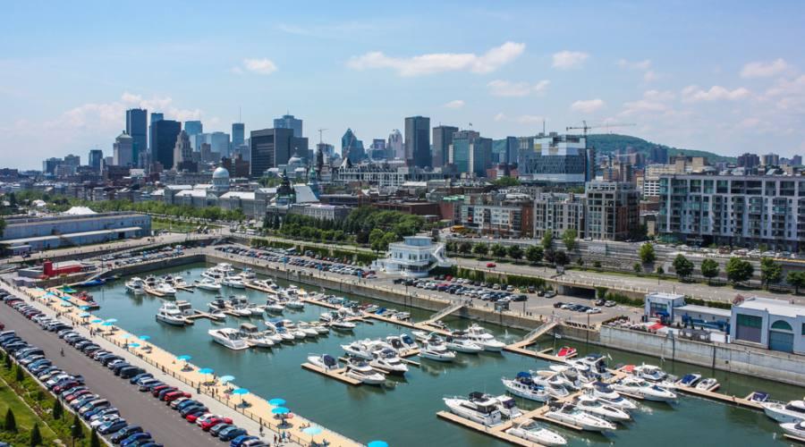 Vecchio porto di Montreal