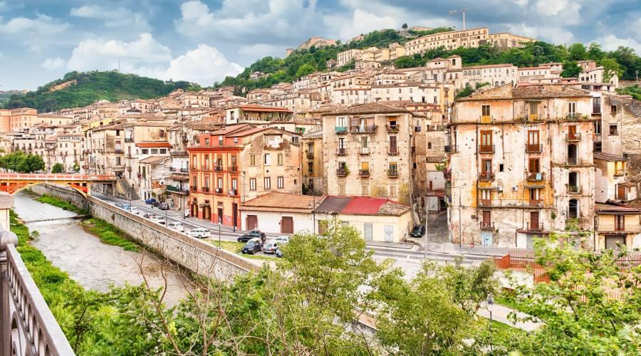Vista panoramica di Cosenza