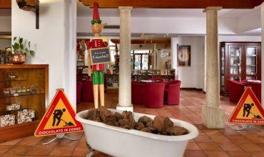 Hotel 3 stelle dedicato al cioccolato....