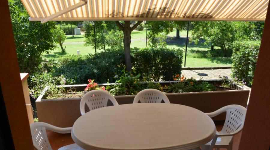 Terrazzo vista giardino