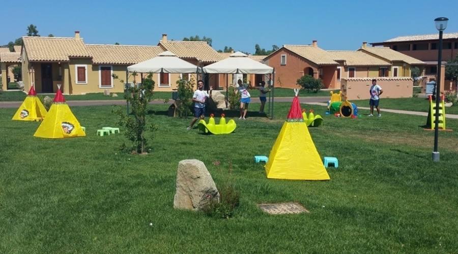 Parco giochi villaggio