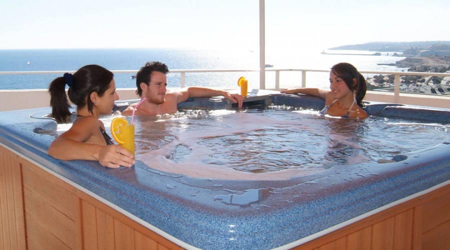 Preluna Hotel & Spa: Vasca Idromassaggio Panoramica