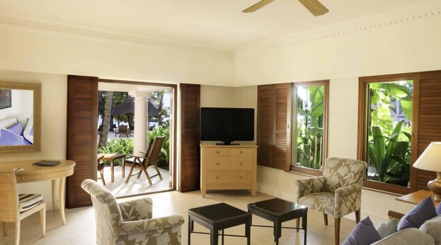 La Lounge di una delle Suite