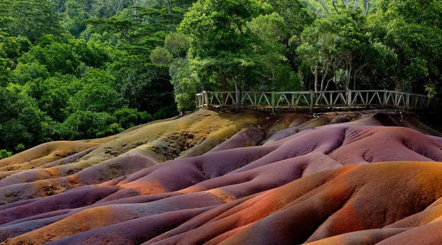 Le terre colorate di Chamarel