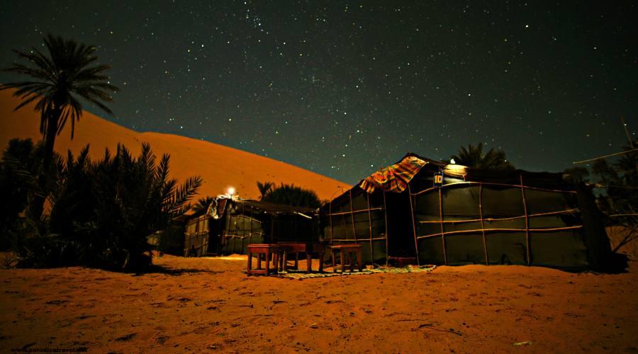 Tenda Nelle Dune di Merzouga