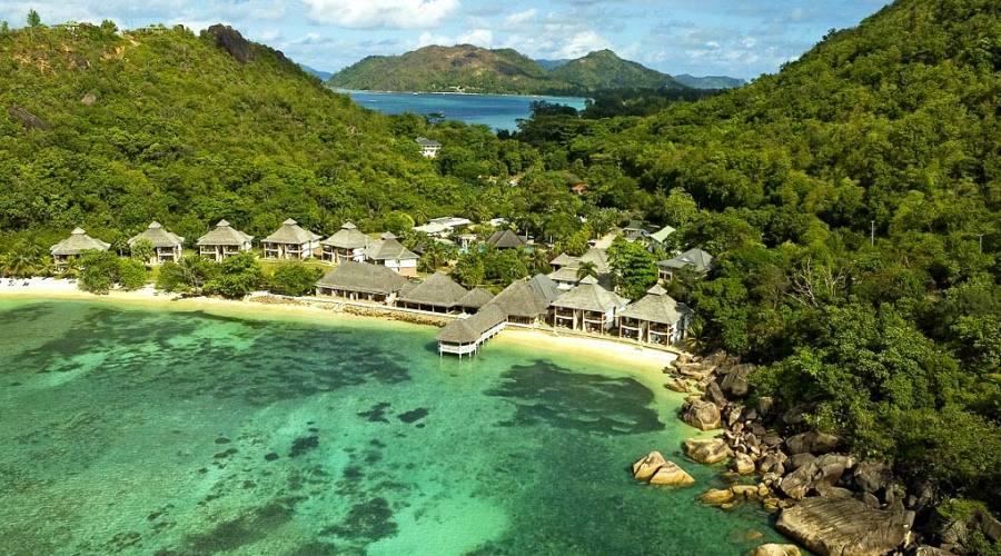 Vista panoramica del resort
