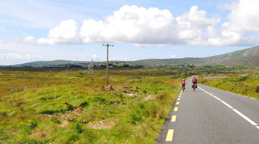 Pedalando in Irlanda